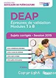DEAP - Epreuves de validation Modules 1 à 8
