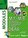M7.-M8. Transmission des informations et organisation du travail. DEAS