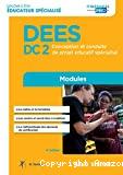 DEES DC2 Conception et conduite de projet éducatif spécialisé
