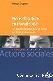 Précis d'écriture en travail social