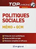 Politiques sociales mémo + QCM