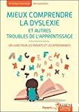 Mieux comprendre la dyslexie