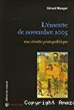 L'émeute de novembre 2005